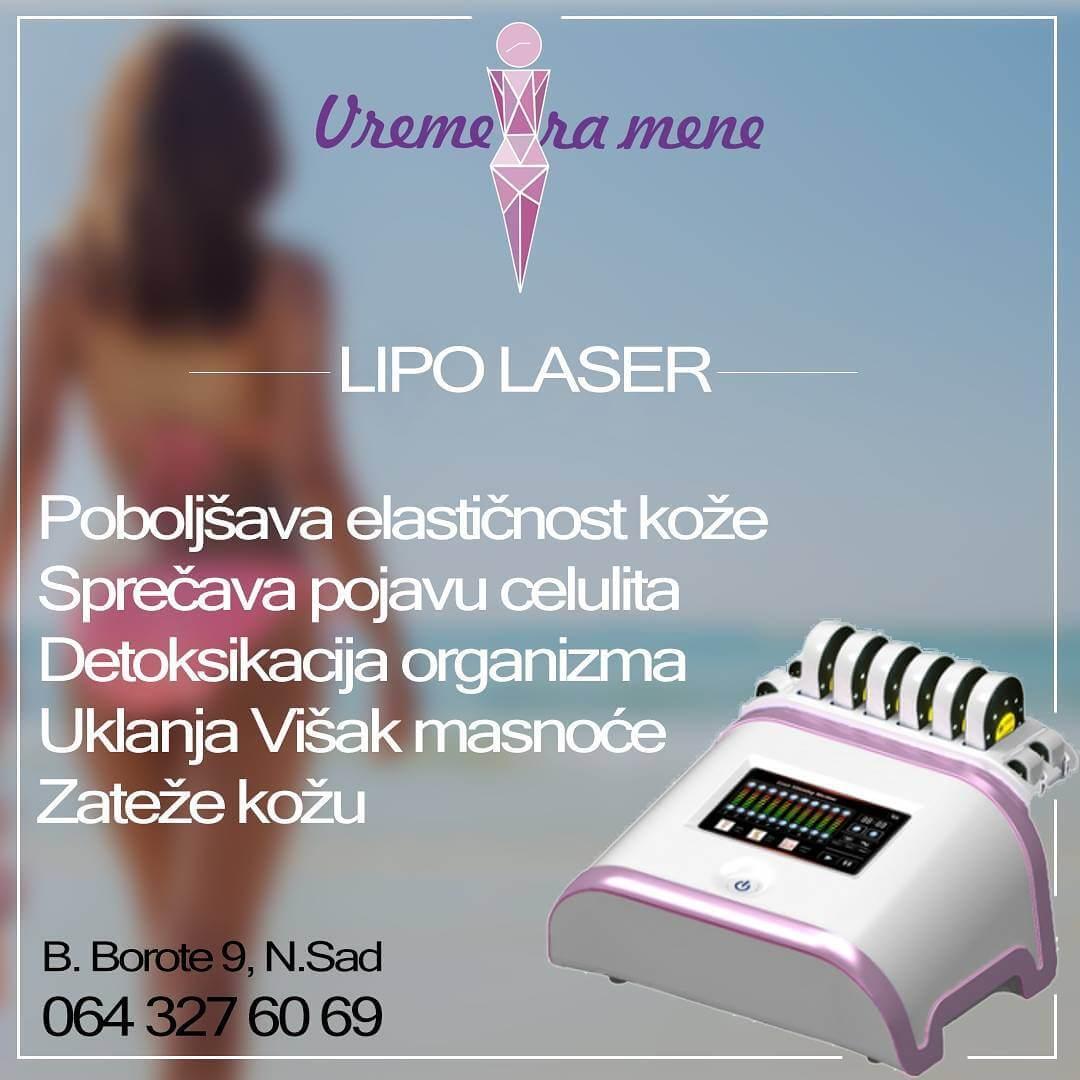 Lipo laser, vreme za mene, novi sad