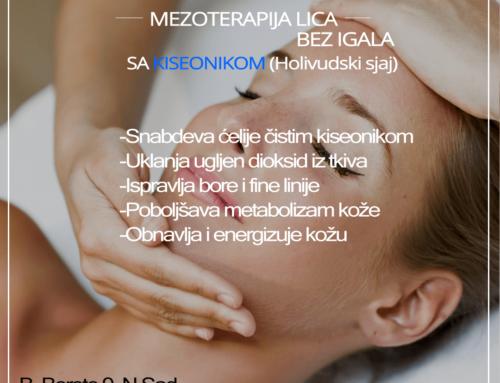 Mezoterapija lica bez igala